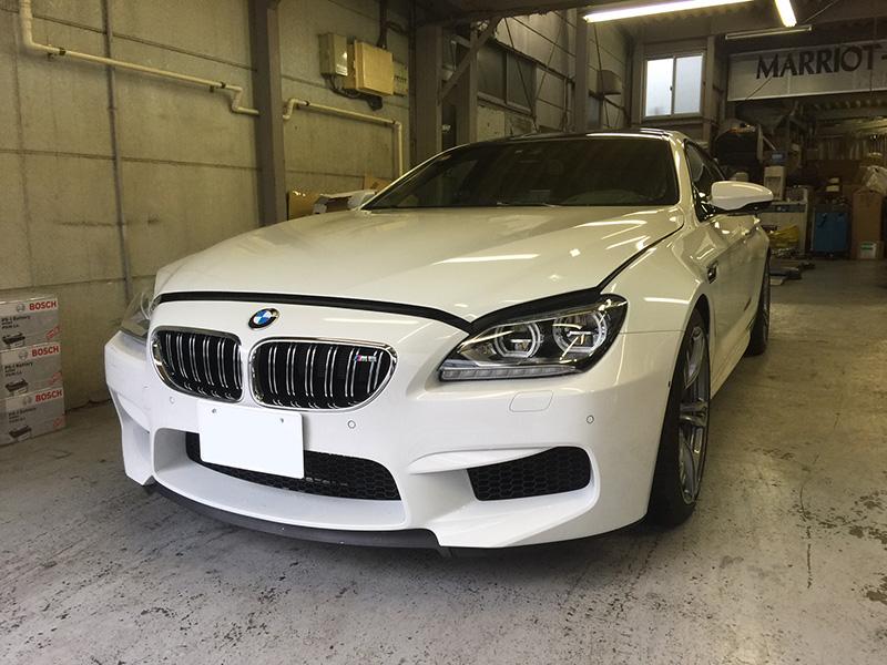 BMW M6(F06) グランクーペ 12ヶ月点検