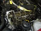BMW 7シリーズ E38 735i エンジンオイル漏れ修理