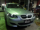 BMW M5 各種警告灯点灯、ナビ異常