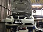 BMW 3シリーズ E90  車検 オイル漏れ修理