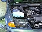 3シリーズ E46車検 点検 オイル漏れ 修理