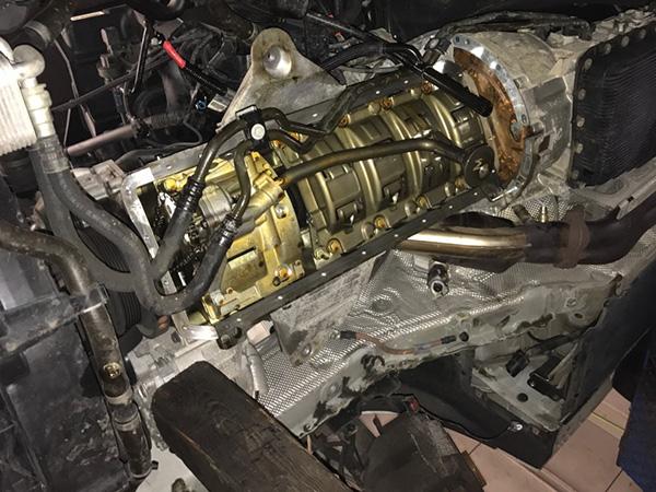 BMW 5シリーズ E60車検整備