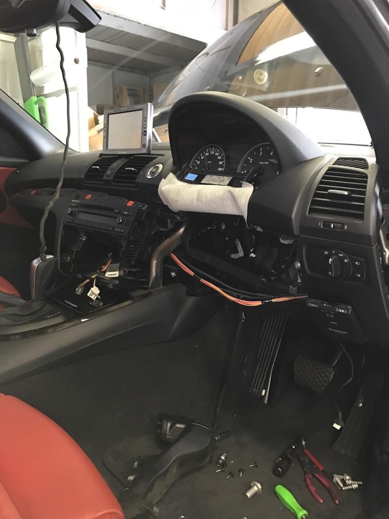 bmw 1シリーズ ステアリングロック警告灯 点検修理