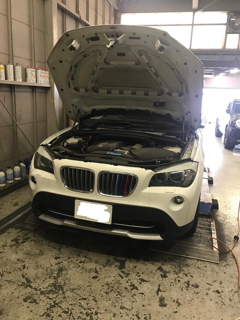 BMW X1 E84 車検点検