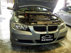 BMW 3シリーズ E90 オイル漏れ 車検