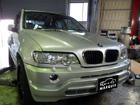 BMW X 冷却水警告灯点灯修理