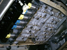 BMW 3シリーズ e93 オートマトランスミッションオイル漏れ、24ヶ月点検、修理