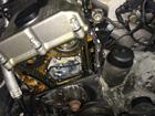3シリーズ E36 オイル漏れ修理