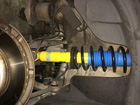 BMW 6シリーズ E63 ショック交換