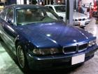 BMW 7シリーズ E38 オイル漏れ修理