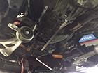 BMW 3シリーズ E46車検点検オイル漏れ