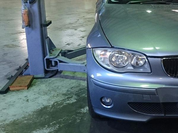 BMW 1シリーズ E87 車検 ATオイル漏れ修理