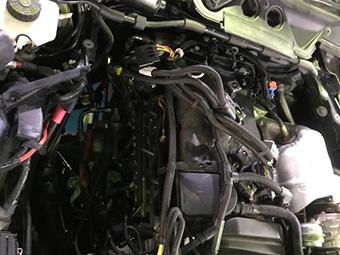 1シリーズ(F20) 120i 車検点検 冷却水漏れ