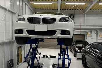 BMW 5series エアコン修理
