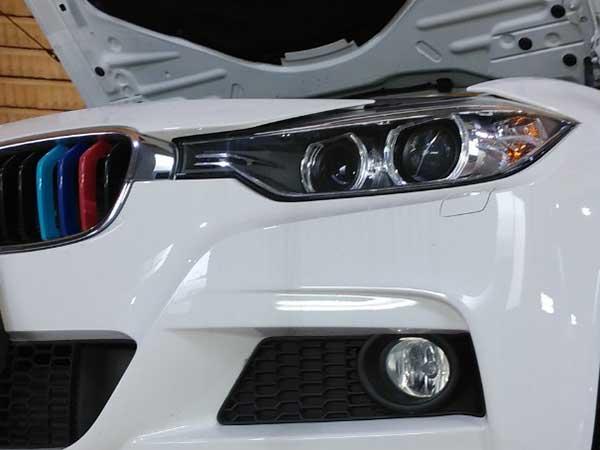 BMW 3シリーズ 警告灯点灯
